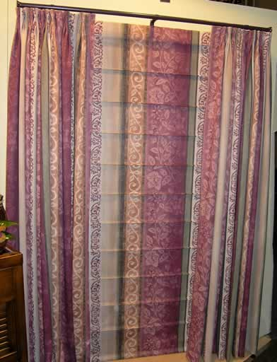 Curtain Addiction Roman Blinds