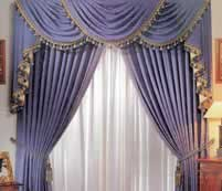 Curtain Addiction Swags Tails